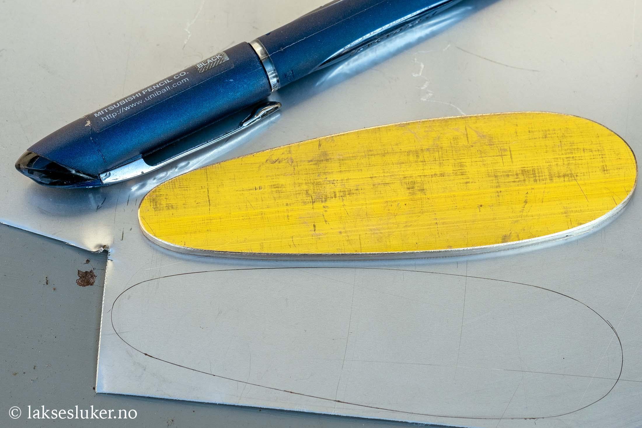 lage din egen sluk - lage omriss av sluken